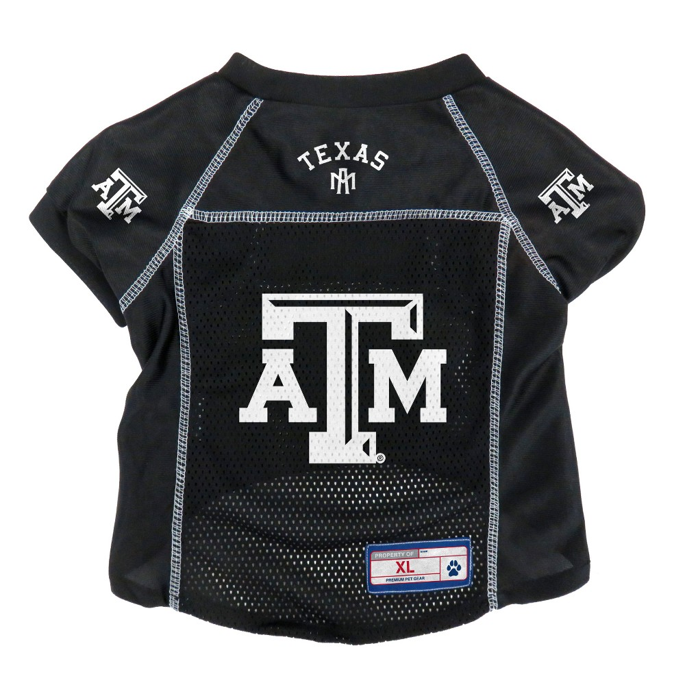 Texas A&m Aggies Little Earth Pet Football Jersey - M, Multicolored