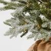 3.5ft Pre-Lit Glittered Balsam Fir Artificial Tree Dew Drop LED Lights - Wondershop™ - image 2 of 3