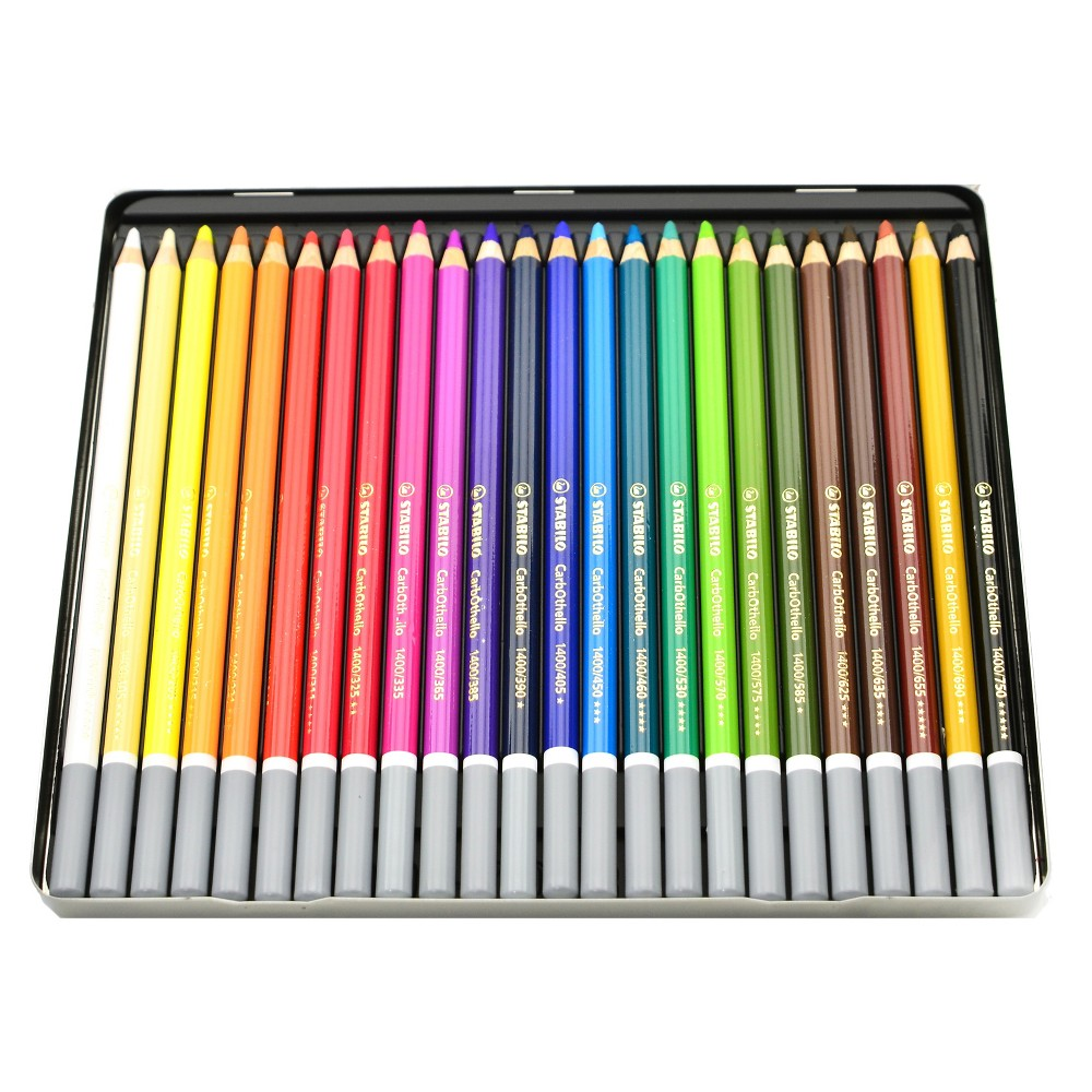 Image of Pastel Pencil Set - Stabilo Carb-Othello 24ct