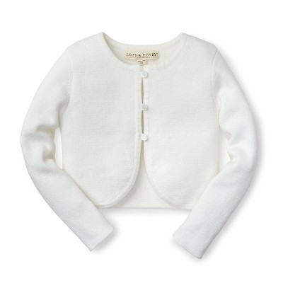 Hope & Henry Girls' Cropped Cardigan, For Kids