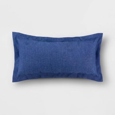 Decorative Lumbar Pillow Navy - Threshold™