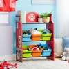 Little Firefighter Fantasy Fields Toy Organizer with Storage Bins - Teamson Kids - image 4 of 4