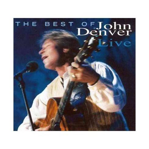 John Denver - Best Of John Denver Live (CD) - image 1 of 1