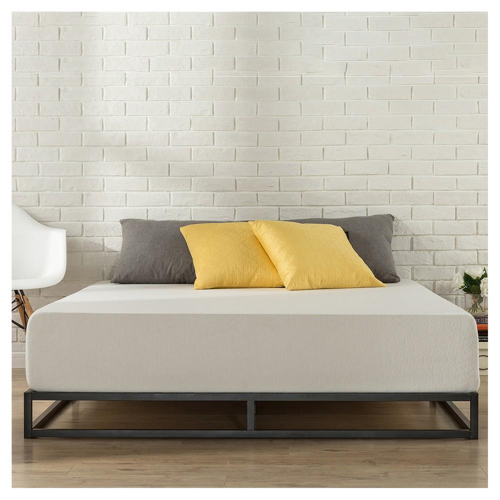 6 King Joseph Steel Platform Bed Frame - Zinus, Black