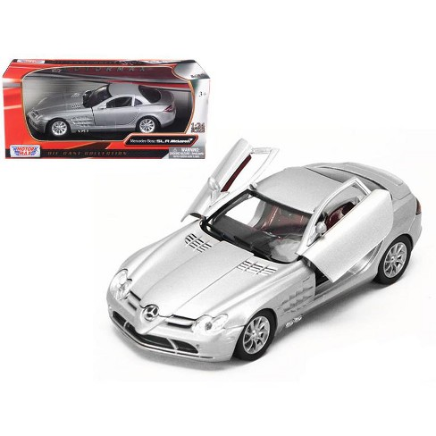 Mercedes Mclaren Slr Silver 1 24 Diecast Model Car Target