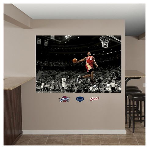 fca08acdfbcf Cleveland Cavaliers Fathead® Decorative Wall Art Set - 52