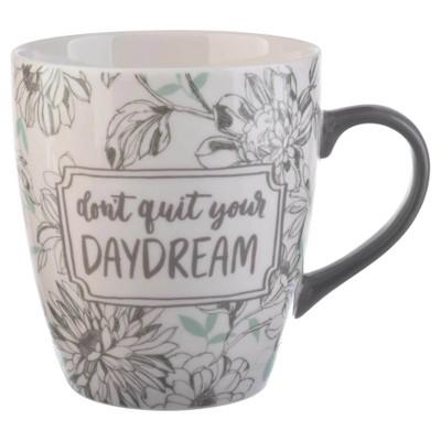 Threshold™ Jumbo Porcelain Coffee Mug 27oz Teal and Gray