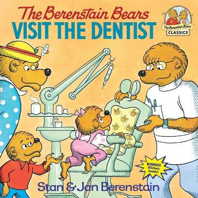 The Berenstain Bears Visit the Dentist - (Berenstain Bears First Time Books)(Paperback)