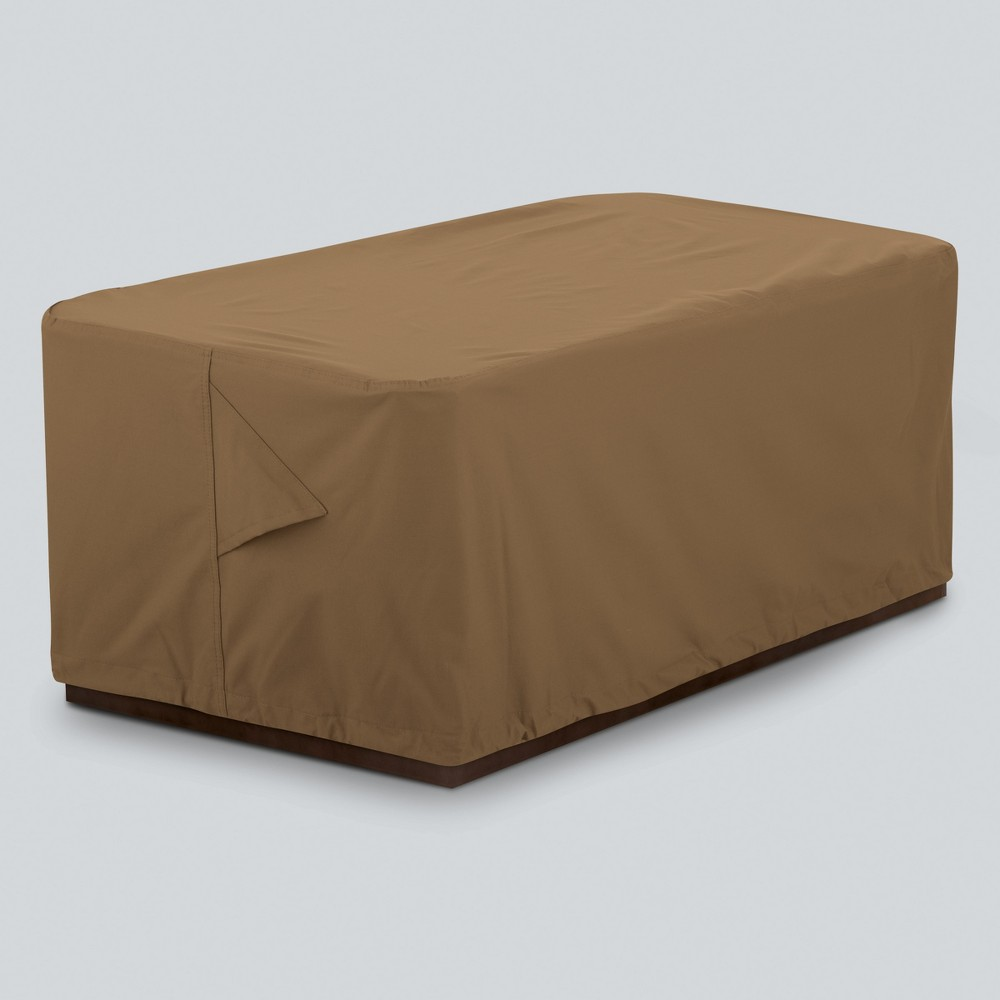 Image of Rectangle Fire Pit Cover Tan - Threshold
