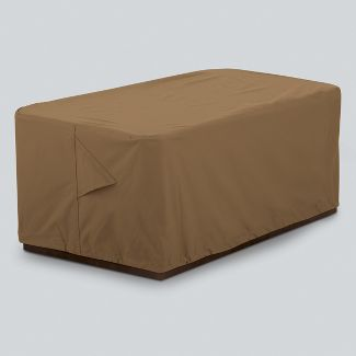 Rectangle Fire Pit Cover Tan - Threshold™