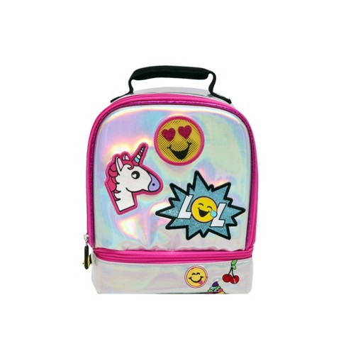 EmojiNation Iridescent Everything Lunch Tote - image 1 of 6