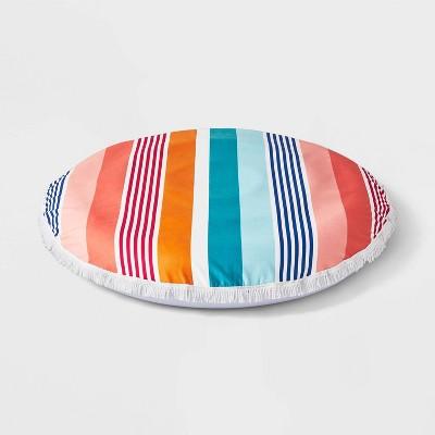 Towel Top Big Float Multi Stripe - Sun Squad™