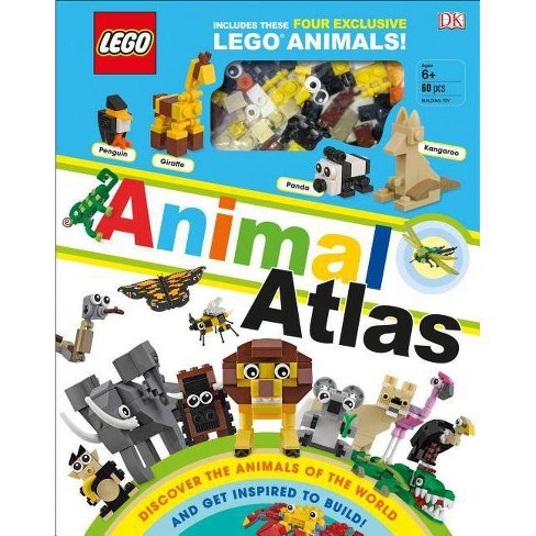 Lego Animal Atlas : Discover the Animals of the World and Get Inspired to Build! - (Hardcover) - by Rona Skene - image 1 of 1
