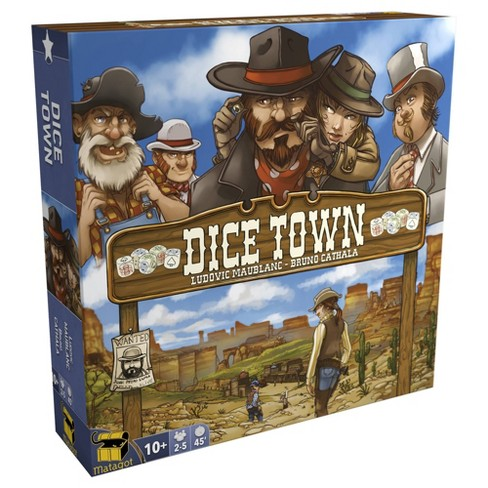 Dice Town Revised Edition Board Game - image 1 of 4