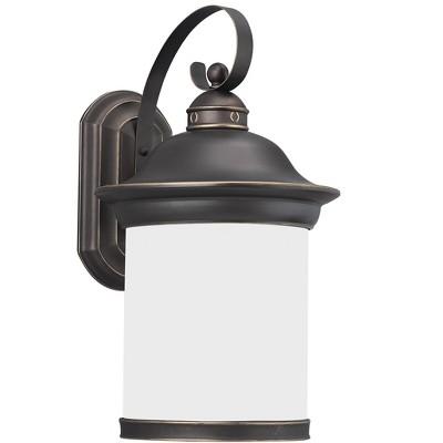 Generation Lighting Hermitage 1 light Antique Bronze Outdoor Fixture 89193-71
