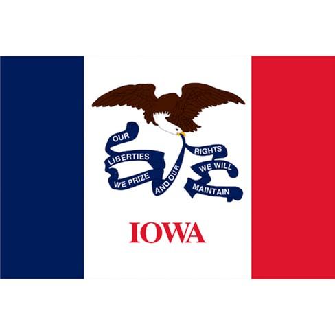 Iowa State Flag - 4' x 6' - image 1 of 1