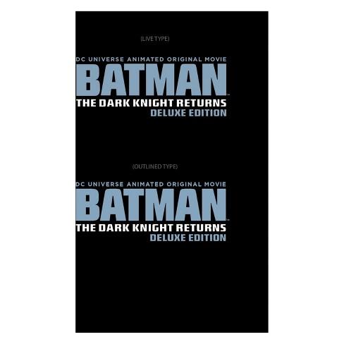 Batman: The Dark Knight Returns [Deluxe Edition] [2 Discs] [Blu-ray/DVD] - image 1 of 1