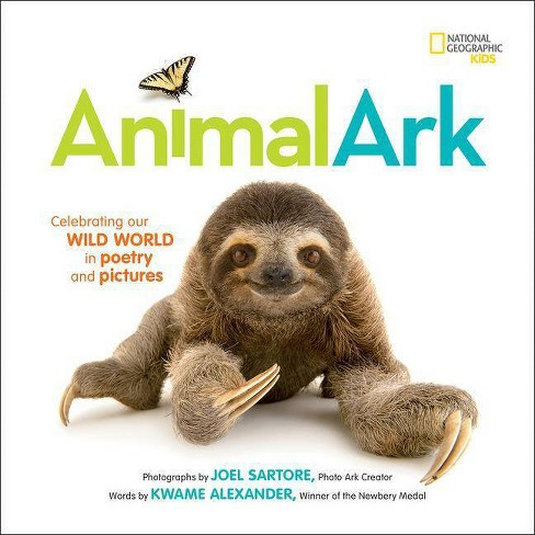 Animal Ark - by  Kwame Alexander & Mary Rand Hess & Deanna Nikaido (Hardcover) - image 1 of 1