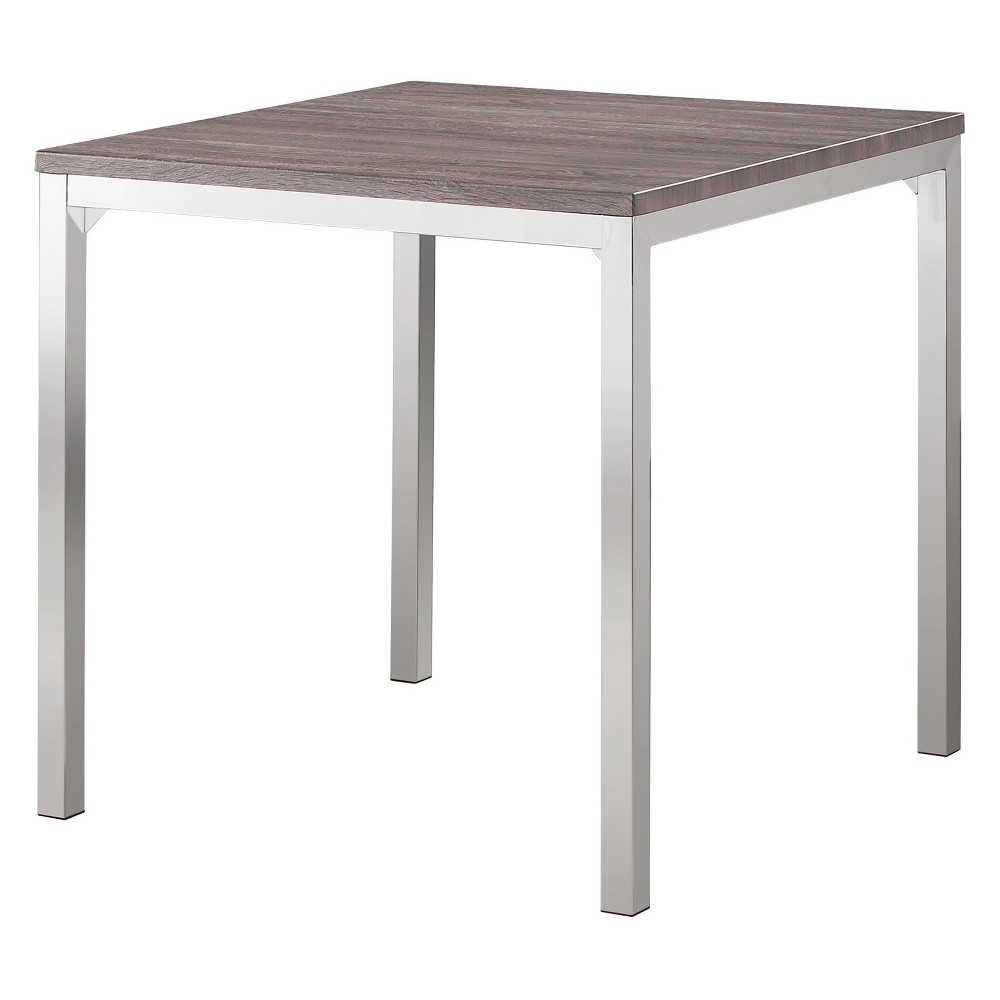 Private Reserves 36 Counter Height Table Weathered Gray