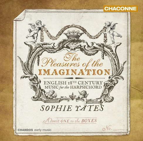 Sophie yates - Pleasures of the imagination (CD) - image 1 of 1