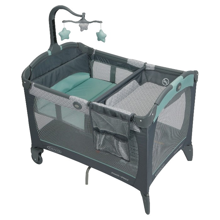 Graco® Pack 'n Play Playard Change 'n Carry - Manor - image 1 of 9