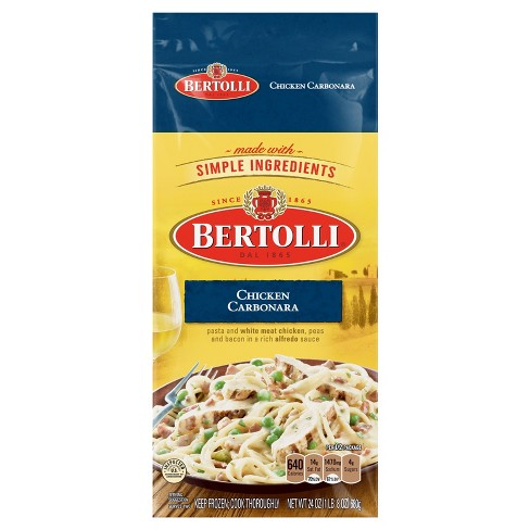 Bertolli Frozen Chicken Carbonara - 24oz - image 1 of 1