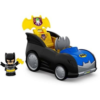 Fisher-Price Little People DC Comics Super Friends 2-in-1 Batmobile