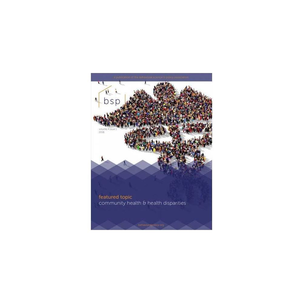 Community Health & Health Disparities - (Paperback)