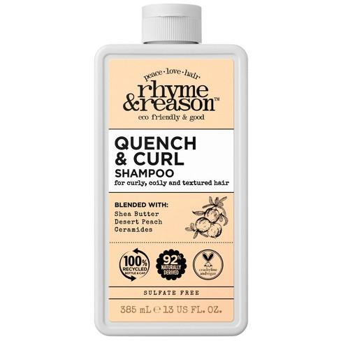 Rhyme & Reason Quench & Curl Shampoo - 13 fl oz - image 1 of 4