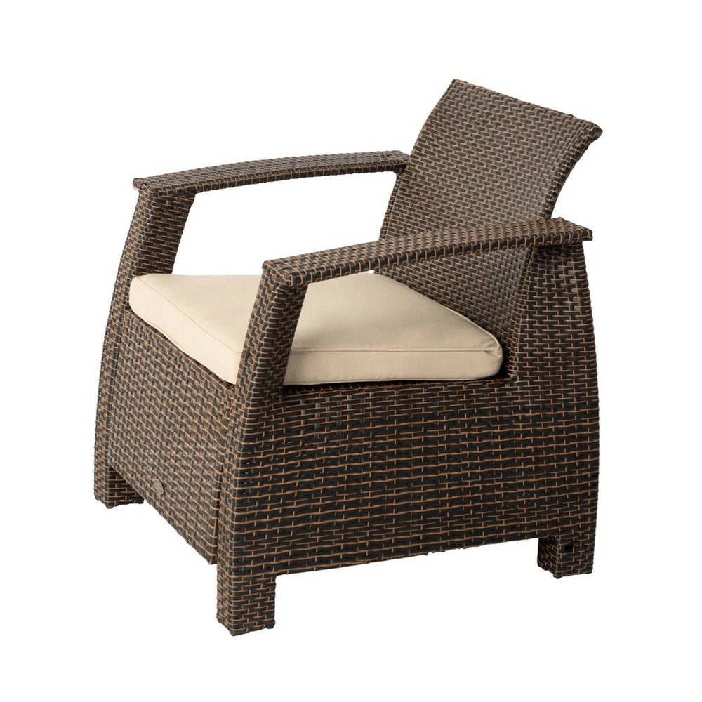 Image of Bondi Deluxe Outdoor Patio Wicker Armchair - Balkene Home