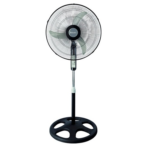 """18"""" Oscillating Stand Fan with Remote Control Black - Holmes - image 1 of 4"""