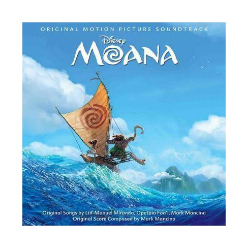 Original Soundtrack - Moana (Original Soundtrack) (11/18) (CD) - image 1 of 1
