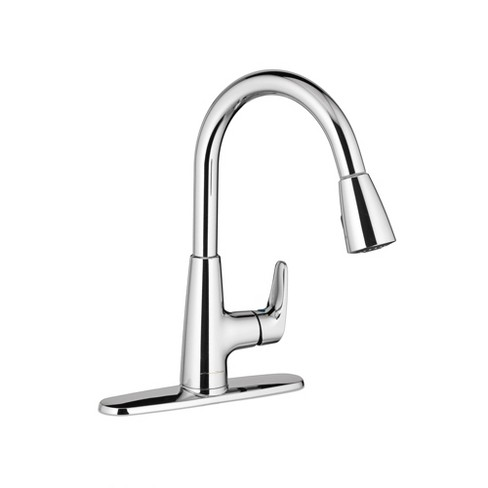 American Standard 7074.300 Colony Pro Pull-Down High-Arch Gooseneck Kitchen  Faucet