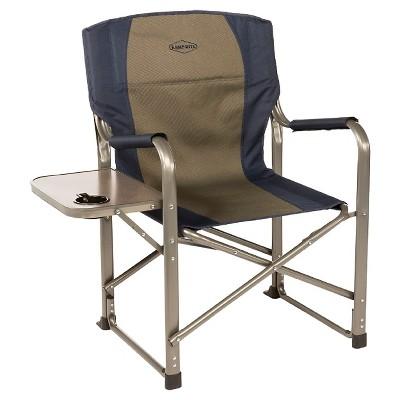 Attirant Kamprite Directoru0027s Chair With Side Table
