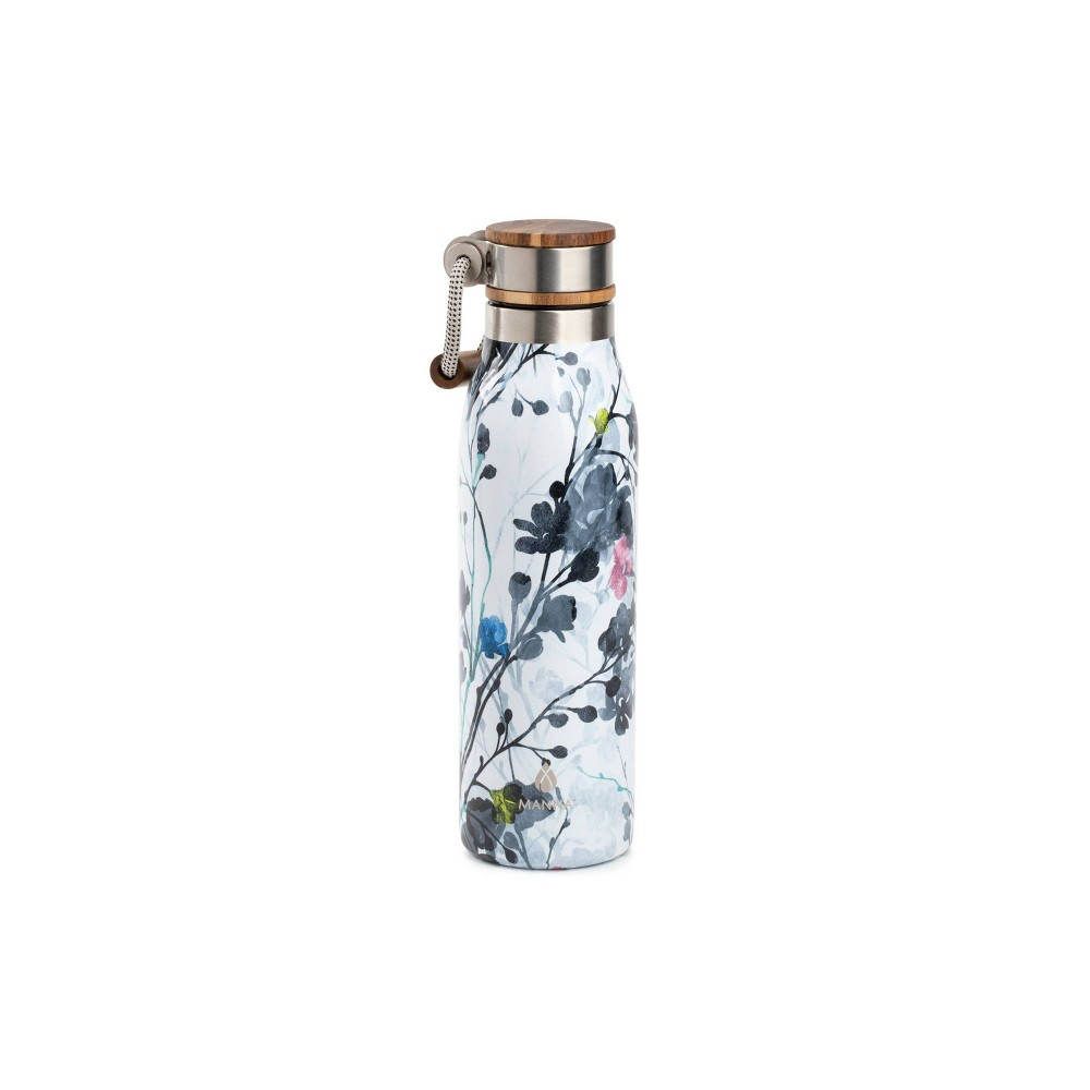 Image of Manna 18oz Stainless Steel Ascend Floral Hydration Bottle