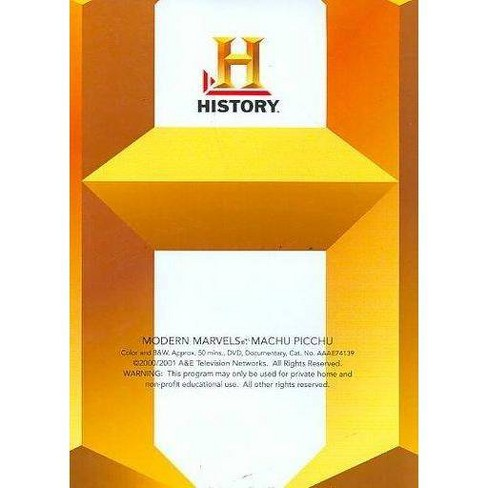 MODERN MARVELS:MACHU PICCHU (DVD) - image 1 of 1