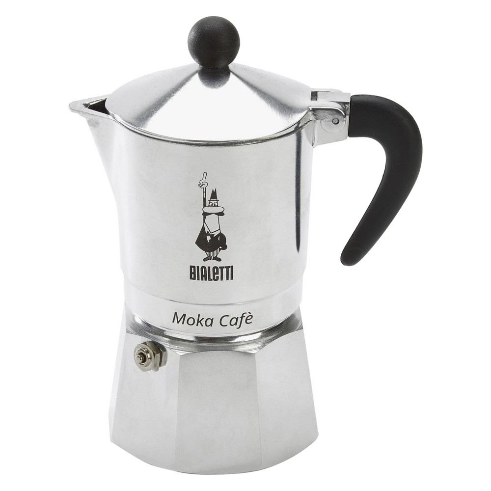 Bialetti 3 Cup Moka Stovetop Espresso Maker – Silver 21464668