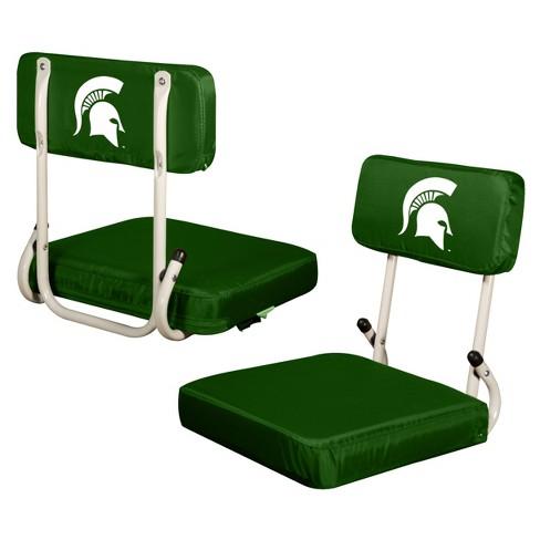 Ncaa Michigan State Spartans Logo Brands Hard Back Stadium Seat Target