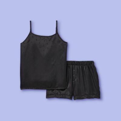 Girls' 2pc Pajama Set - More Than Magic™ Charcoal Gray