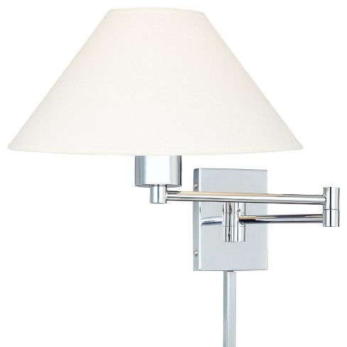 Kovacs P4358-1-077 1 Light Plug In Wall Sconce in Chrome from the Boring Collection - image 1 of 1