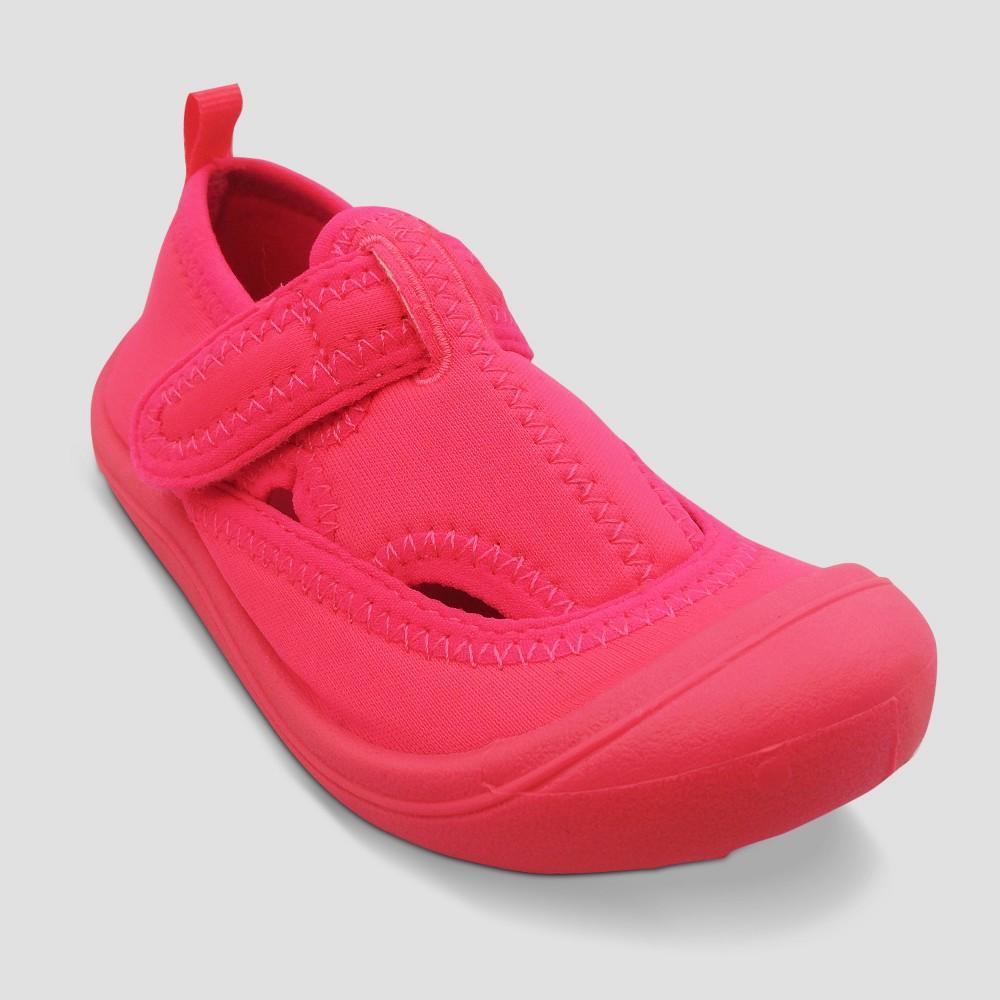 Girls' Poppy Sock Water Shoes - Cat & Jack Pink L