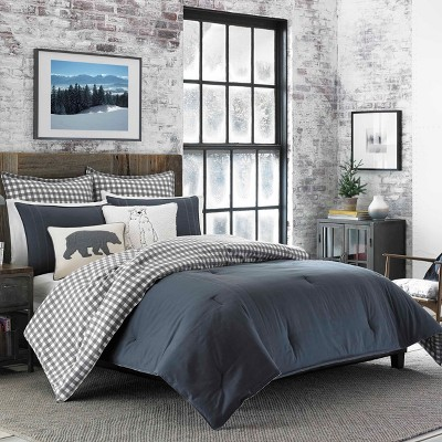 Charcoal Kingston Comforter Set - Eddie Bauer
