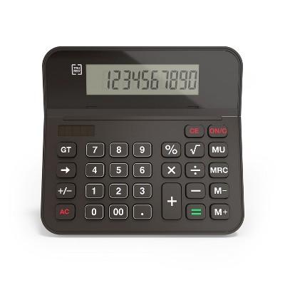 TRU RED TR250 10-Digit Desktop Calculator, Black