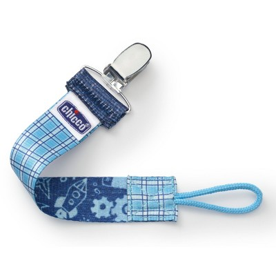 Chicco NaturalFit Fashion Pacifier Clip Blue