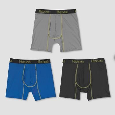 Hanes Mens 3 Pack ComfortFlex FreshIQ Briefs