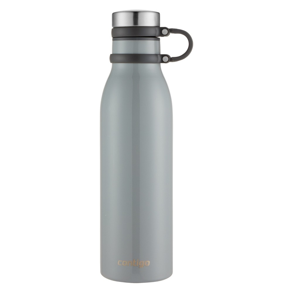 Image of Contigo 20oz Couture Thermalock Vacuum-Insulated Stainless Steel Water Bottle Metallic Bass