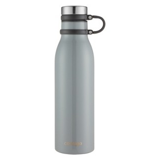 Contigo 20oz Couture Thermalock Vacuum-Insulated Stainless Steel Water Bottle Metallic Bass