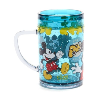 Disney Mickey Mouse 7.5oz Plastic Open Cup Blue - Disney Store