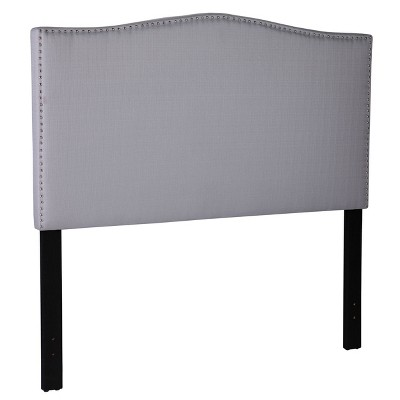 Wesfales Upholstered Headboard with Stud Accents Queen Ivory - Aiden Lane