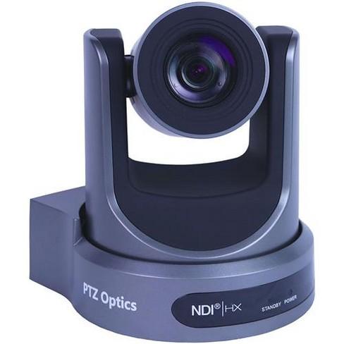 PTZOptics 30x Optical Zoom Broadcast & Conference Camera, NDI HX, 3G-SDI, HDMI and IP Streaming, CVBS (H.264, H.265 & MJPEG), Gray - image 1 of 4